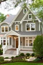 Cute Farmhouse Exterior Design Ideas That Inspire You 27