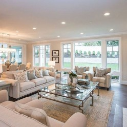 Elegant Large Living Room Layout Ideas For Elegant Look 34