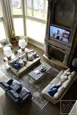 Elegant Large Living Room Layout Ideas For Elegant Look 48