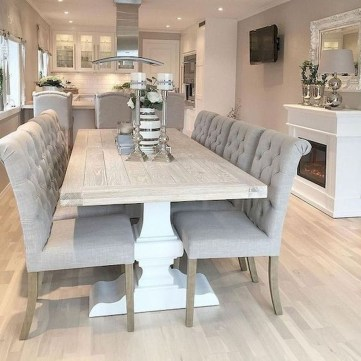 Oustanding Diy Decor Ideas To Upgrade Your Dining Room 11