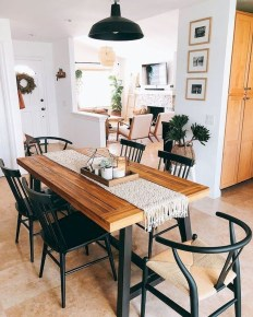 Oustanding Diy Decor Ideas To Upgrade Your Dining Room 16