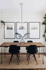 Oustanding Diy Decor Ideas To Upgrade Your Dining Room 19