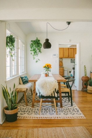 Oustanding Diy Decor Ideas To Upgrade Your Dining Room 32