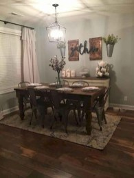 Oustanding Diy Decor Ideas To Upgrade Your Dining Room 40