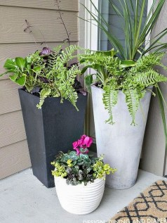 Perfect Porch Planter Design Idseas That Will Give Your Exterior A Unique Look 29