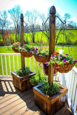 Perfect Porch Planter Design Idseas That Will Give Your Exterior A Unique Look 32