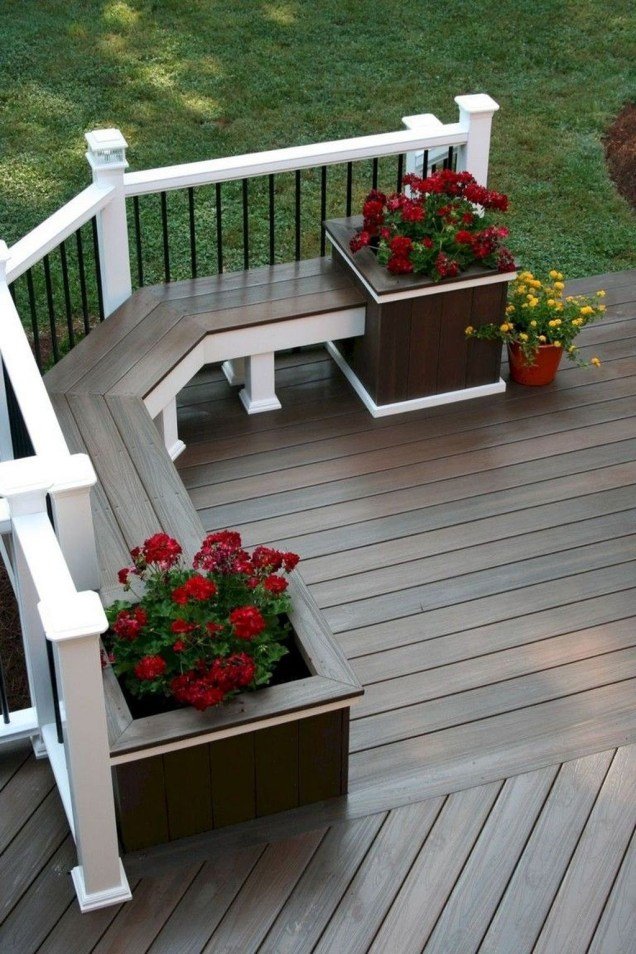 Perfect Porch Planter Design Idseas That Will Give Your Exterior A Unique Look 46
