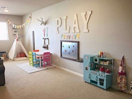 Pretty Playroom Design Ideas For Childrens 34