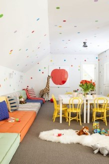 Pretty Playroom Design Ideas For Childrens 37