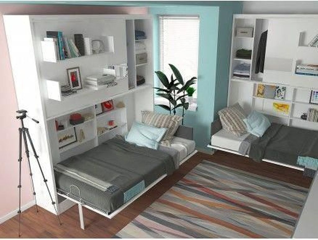 Spectacular Diy Bed Design Ideas That Suitable For Small Space 34