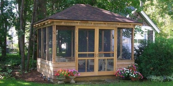 Stylish Gazebo Design Ideas For Your Backyard 18