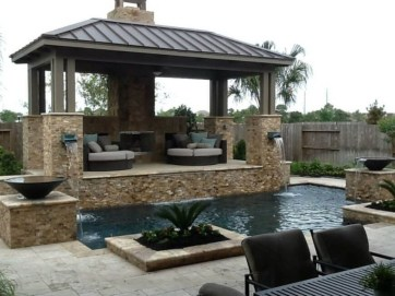Stylish Gazebo Design Ideas For Your Backyard 40