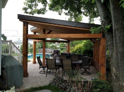 Stylish Gazebo Design Ideas For Your Backyard 48
