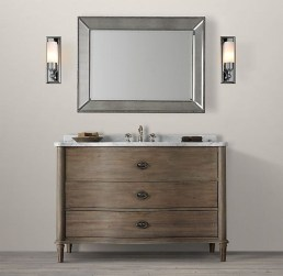 Wonderful Single Vanity Bathroom Design Ideas To Try 10
