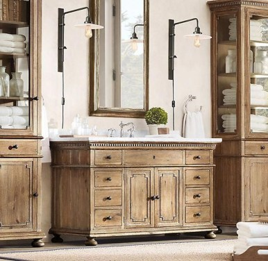 Wonderful Single Vanity Bathroom Design Ideas To Try 22