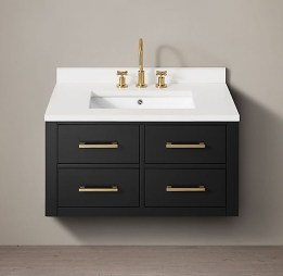 Wonderful Single Vanity Bathroom Design Ideas To Try 33