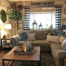 Amazing Country Living Room Design Ideas18