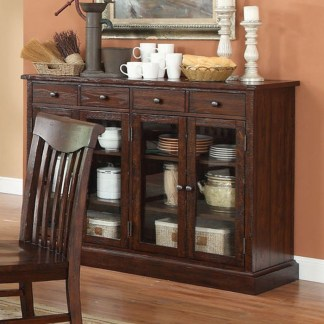 Awesome Dining Room Buffet Table Décor Ideas15