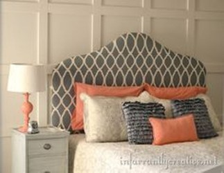 Beautiful Navy Blue And Coral Bedroom Decor41