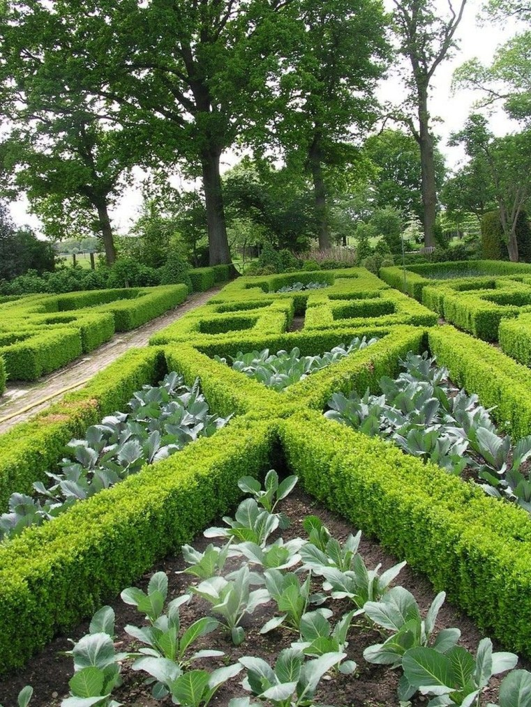 Best Ideas For Formal Garden Design29