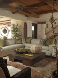 Cool Basement Living Room Design Ideas12