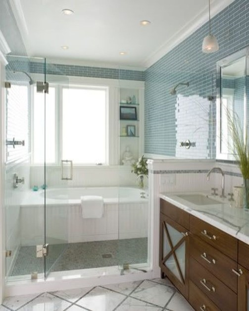 Fabulous Bathroom Shower And Tub Designs Ideas28