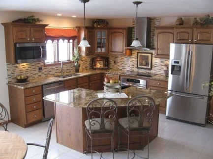 Fantastic L Shaped Kitchen Design Ideas22