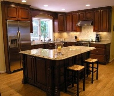 Fantastic L Shaped Kitchen Design Ideas33