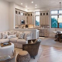 Gorgeous Cabinet Design Ideas For Small Living Room20