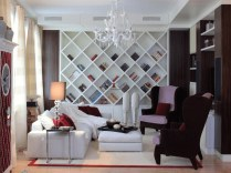 Gorgeous Cabinet Design Ideas For Small Living Room31