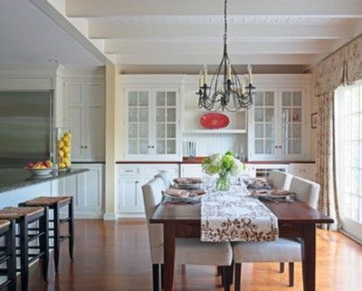 Gorgeous Dining Room Hutch Décor Ideas33