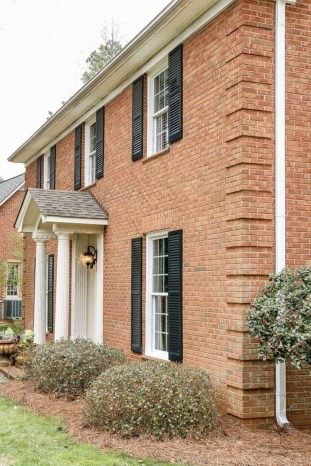 Adorable Brick House Exterior Makeover06