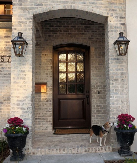 Adorable Brick House Exterior Makeover39