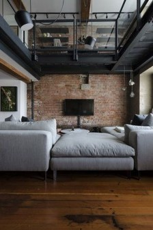 Adorable Loft Apartment Decor Ideas28