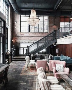 Adorable Loft Apartment Decor Ideas42