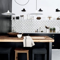 Affordable Black And White Kitchen Cabinets Ideas15