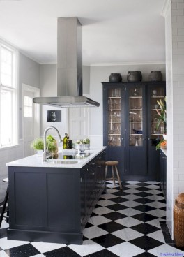 Affordable Black And White Kitchen Cabinets Ideas17