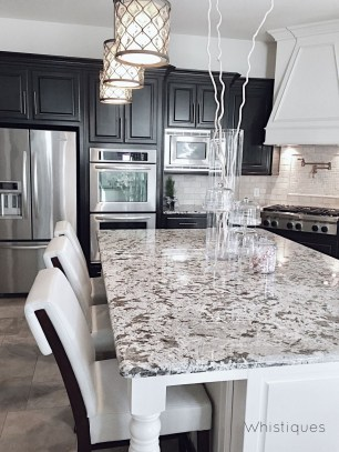 Affordable Black And White Kitchen Cabinets Ideas43