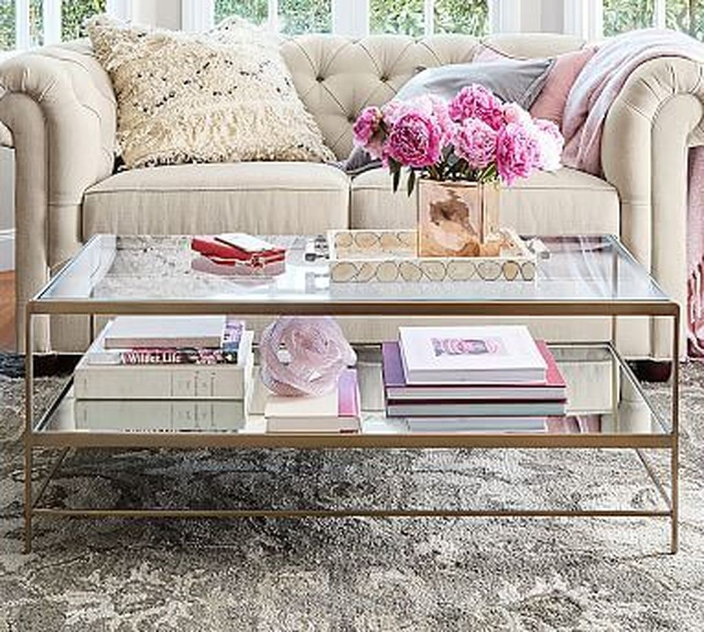 Awesome Glass Coffee Tables Ideas For Small Living Room Design31