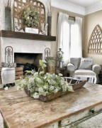 Awesome Living Room Design Ideas With Farmhouse Style03
