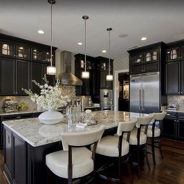 Best Ideas For Black Cabinets In Kitchen06