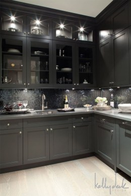 Best Ideas For Black Cabinets In Kitchen12
