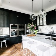 Best Ideas For Black Cabinets In Kitchen14