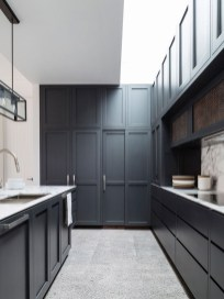 Best Ideas For Black Cabinets In Kitchen34