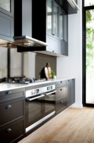 Best Ideas For Black Cabinets In Kitchen36