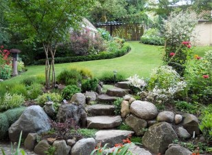 Creative Rock Garden Ideas For Your Backyard09