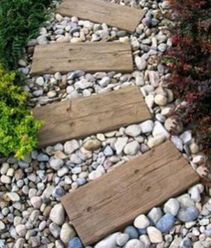 Creative Rock Garden Ideas For Your Backyard33