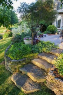 Creative Rock Garden Ideas For Your Backyard42
