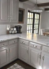 Easy Kitchen Cabinet Painting Ideas13