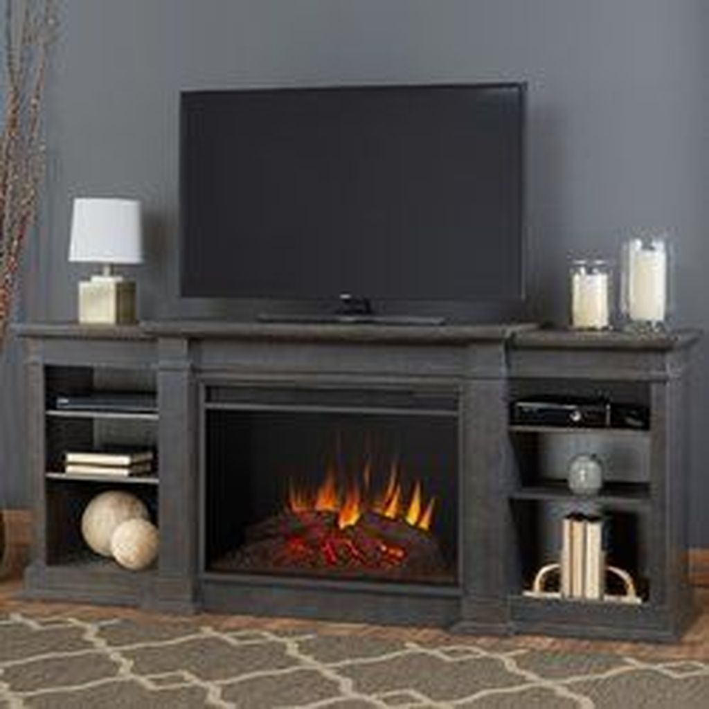 Impressive Living Room Ideas With Fireplace And Tv06